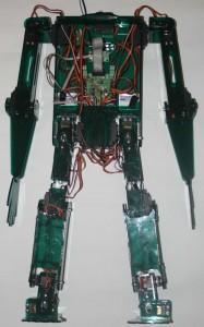 Первый вариант робота для исследований
