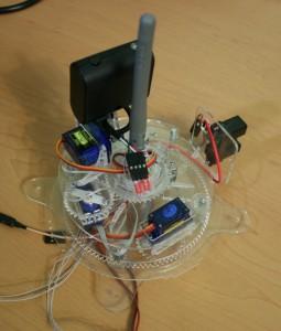 Фотография второго варианта головы робота