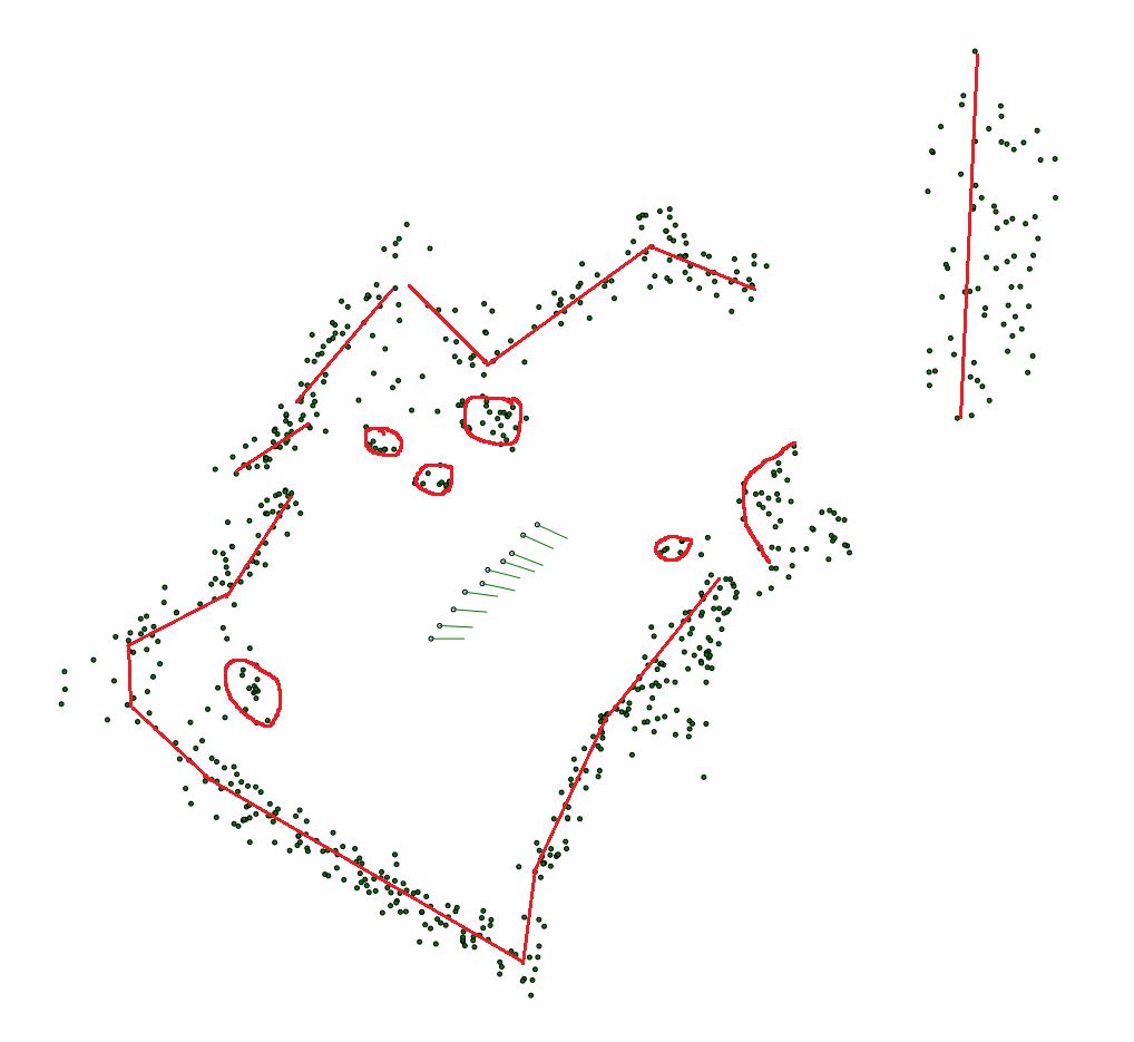 Карта по точкам