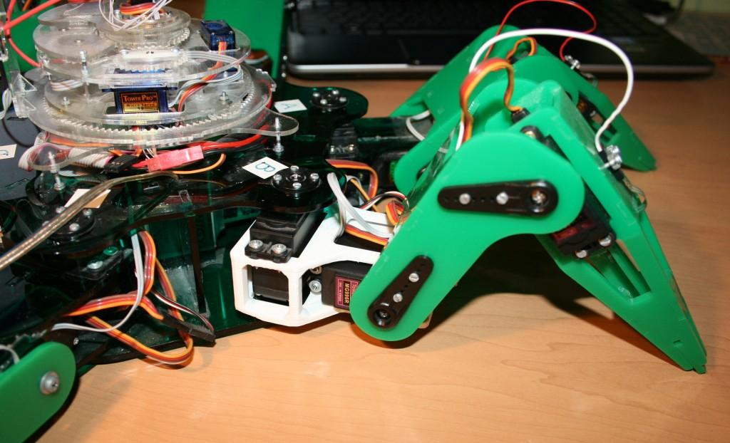 Плечо 2 на роботе