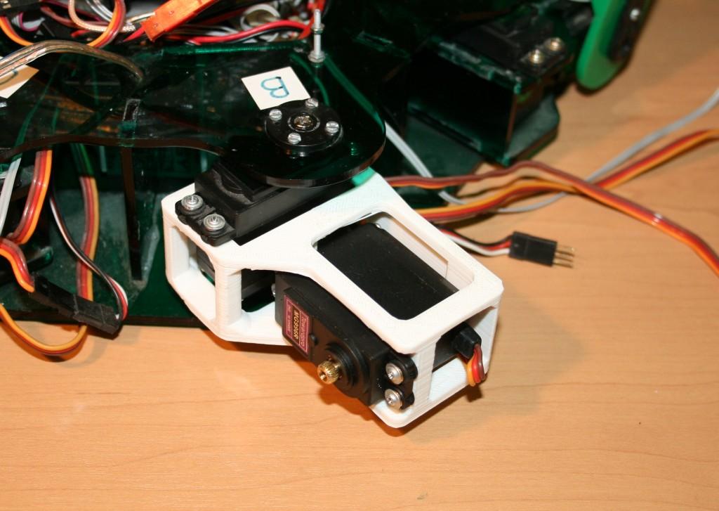 Плечо 2 установлено на робот